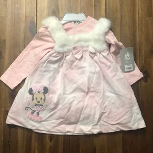Baby Girl Sweet Disney Winter Dress
